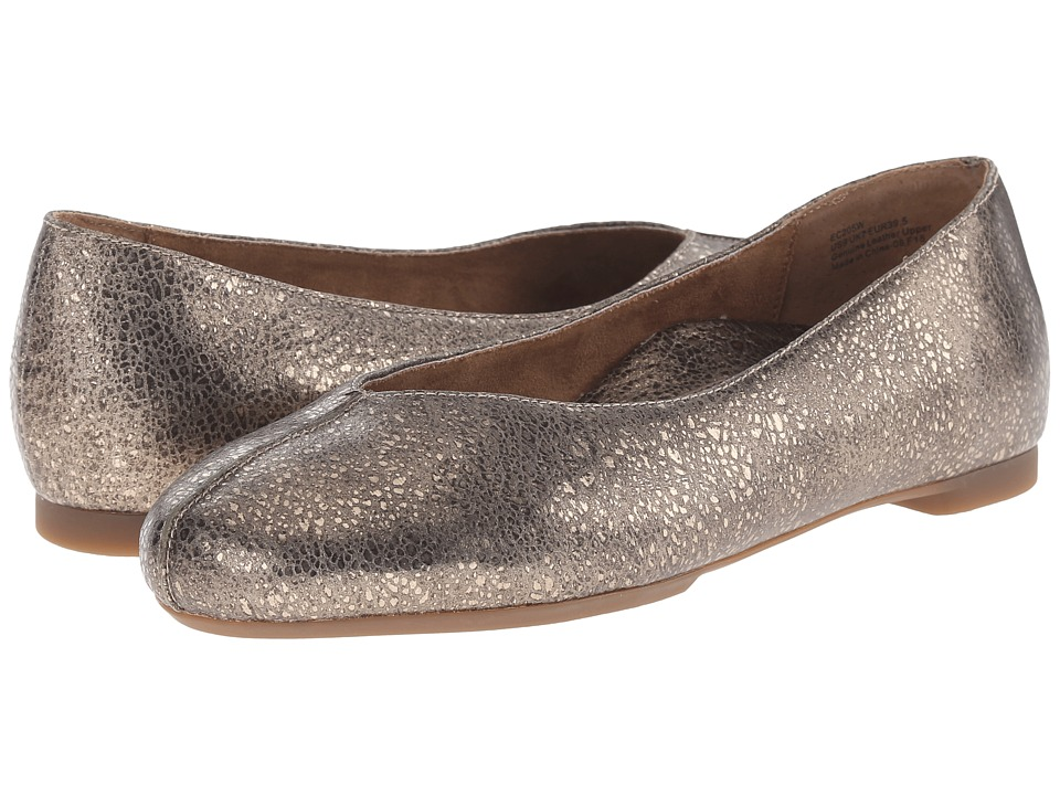 Aetrex Essence Camie Metallic Womens Flat Shoes