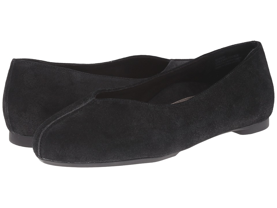 Aetrex Essence Camie Black Womens Flat Shoes