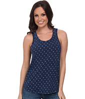 Lucky Brand - Indigo Dot Tank Top
