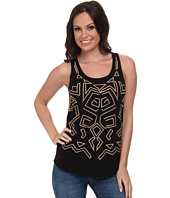 Lucky Brand - Aztec Embroidered Tank Top