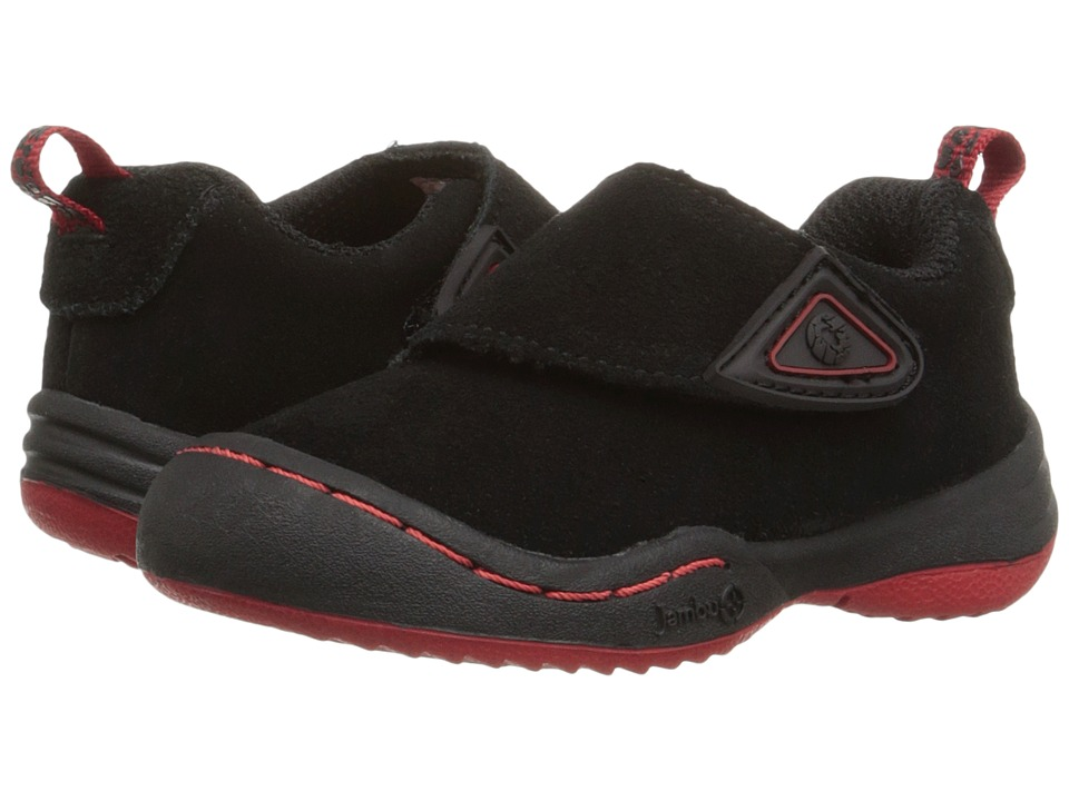 Jambu Kids Condor Toddler Black/Red Boys Shoes