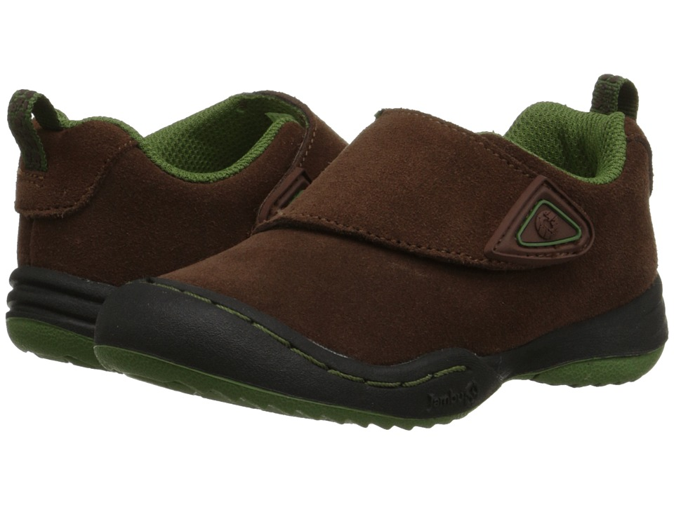 Jambu Kids Condor Toddler Brown/Neon Boys Shoes