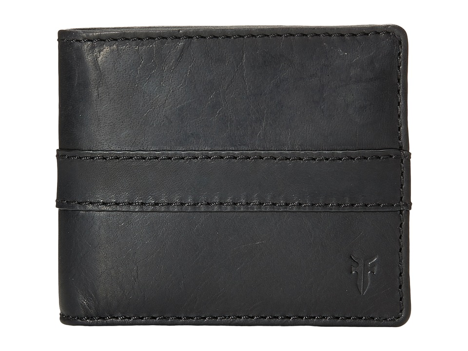 Frye - Oliver Billfold (Black Antique Pull Up) Bill-fold Wallet