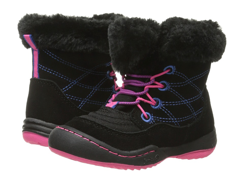 Jambu Kids - Collett (Toddler) (Black) Girls Shoes