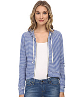 Chaser - Striped Zip-Up Hoodie