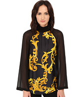 Versace Collection - Long Sleeve Printed Blouse