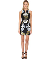Versace Collection - Printed Sleeveless Dress