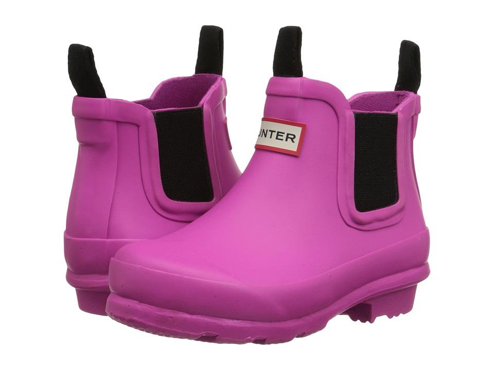 Hunter Kids Original Chelsea Toddler/Little Kid Lipstick Girls Shoes