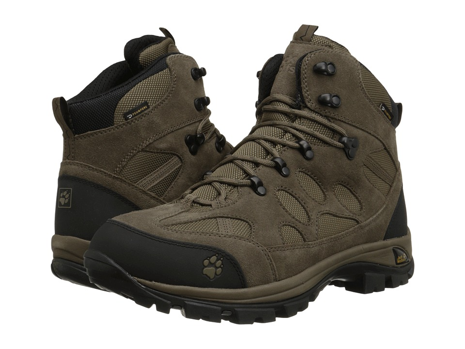Jack Wolfskin All Terrain 7 Texapore Mid Siltstone Mens Shoes
