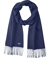 Lacoste - Wool Cashmere Twill Scarf