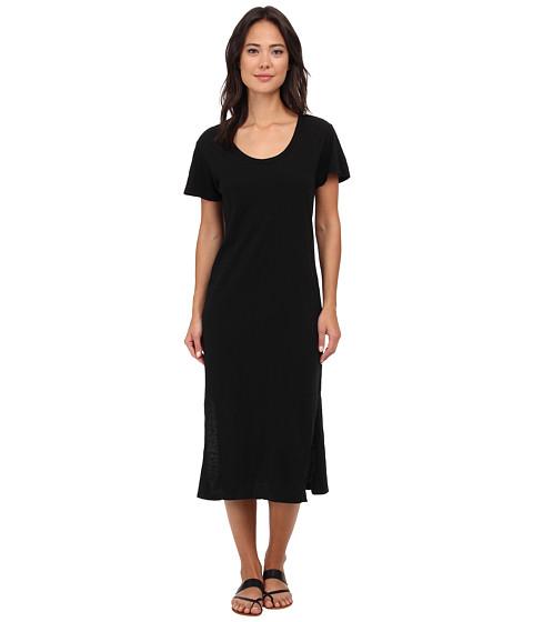 Lna t shirt midi dress black for Midi shirt dress black
