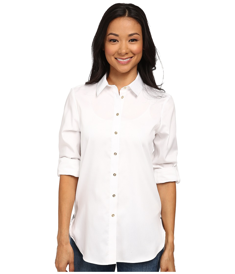 Calvin Klein - Non Iron Tunic (Birch) Women's Clothing