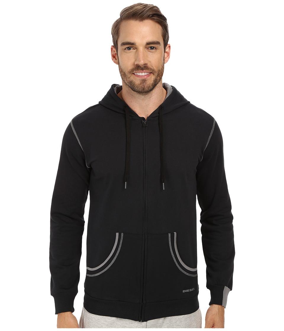 Diesel Brandon Z Sweatshirt LAFJ Black/Grey Mens Sweatshirt