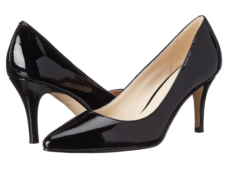 Cole Haan Juliana Pump 75mm (Black Patent) High Heels