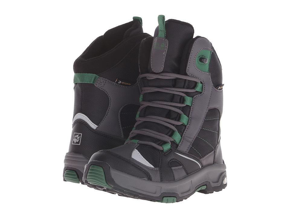 Jack Wolfskin Kids Snow Ride Texapore Little Kid/Big Kid Beech Green Boys Shoes