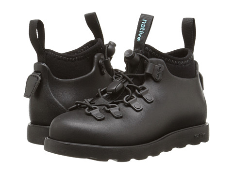 Native Kids Shoes Fitzsimmons (Toddler/Little Kid) - Jiffy Black/Jiffy Black
