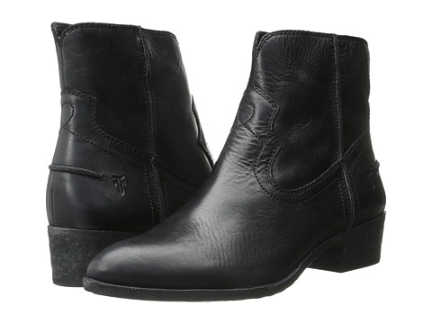 Frye Ray Seam Short - Black Washed Antique Pull Up
