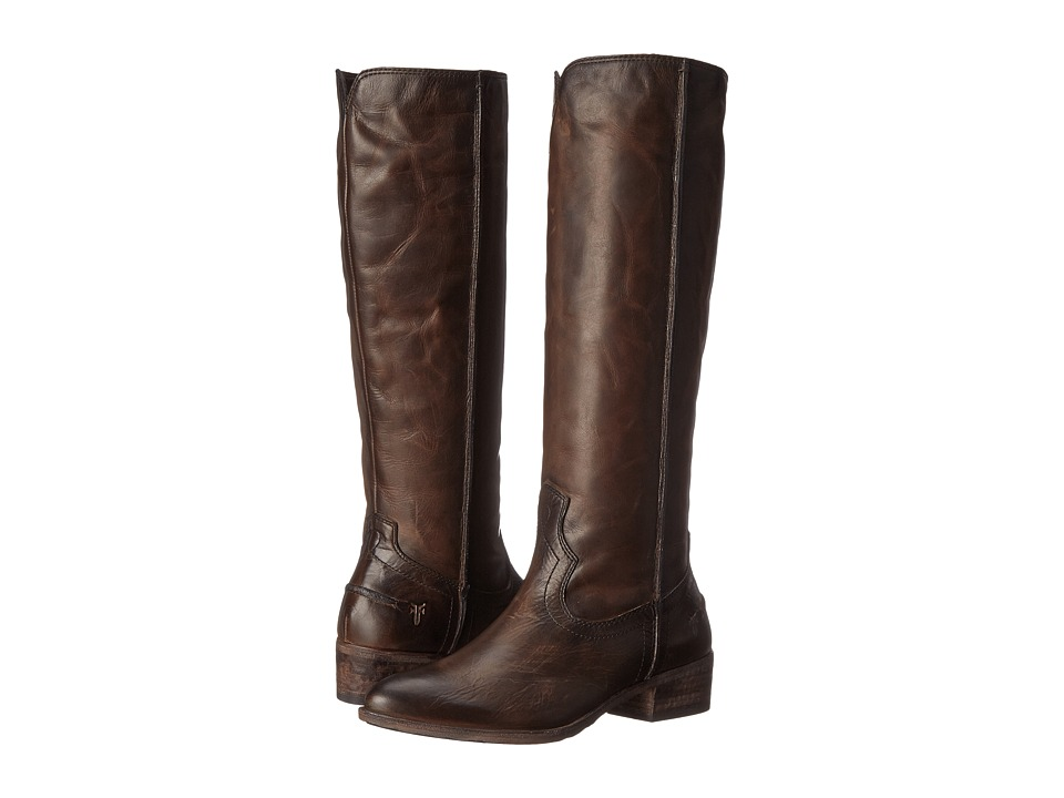 Frye - Ray Seam Tall (Slate Washed Antique Pull Up) Cowboy Boots