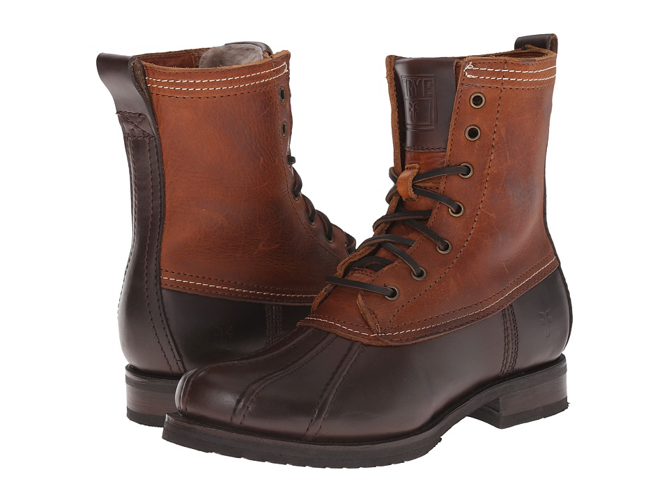 Frye - Veronica Duck Boot (Espresso Multi Smooth Pull Up/Oiled Vintage) Women