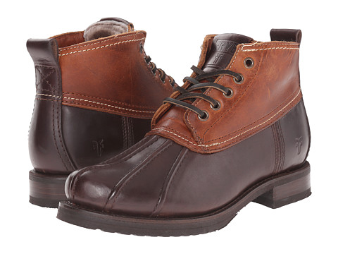 Frye Veronica Duck Chukka - Espresso Multi Smooth Pull Up/Oiled Vintage
