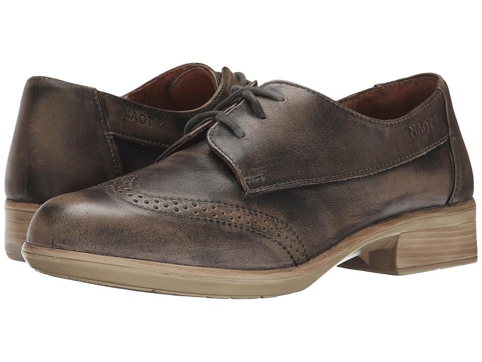 Naot Footwear - Lako (Vintage Gray Leather) Women