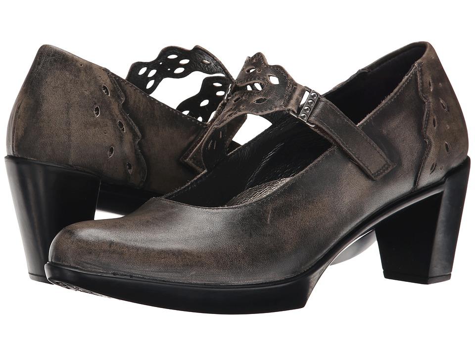 Naot Amato (Vintage Gray Leather) Women