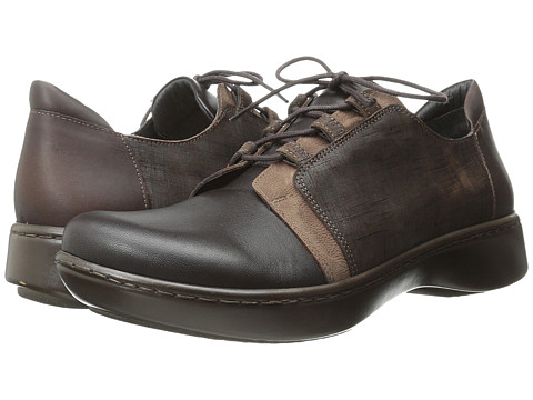 Naot Footwear Riviera - French Roast/Carob Brown/Mine Brown Leather/Buffalo Leather