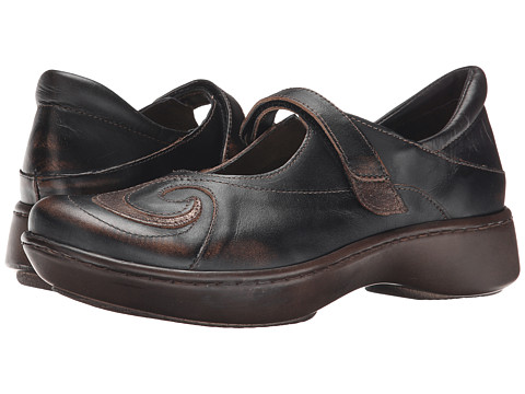 Naot Footwear Sea - Volcanic Brown Leather/Bronze Shimmer Leather