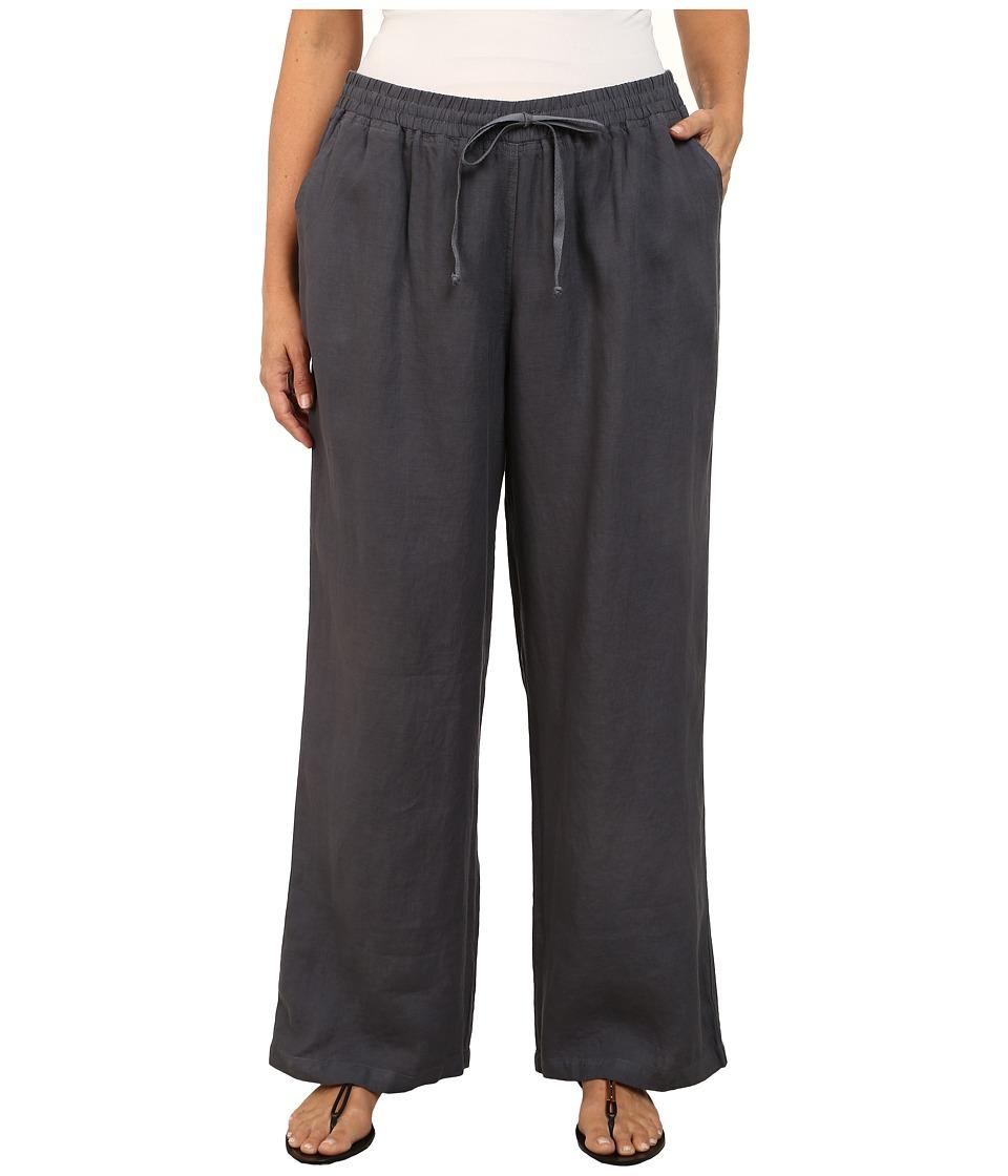 Allen Allen Plus Size Beach Pants Flint Womens Dress Pants