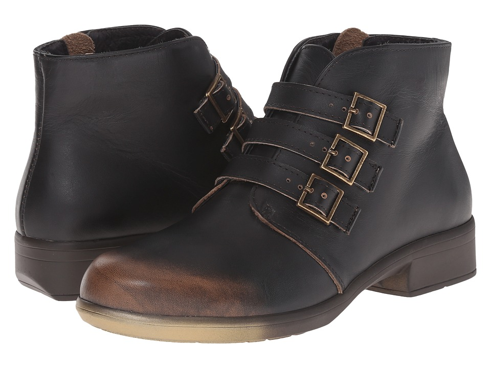 Naot Footwear Calima (Volcanic Brown Leather) Women