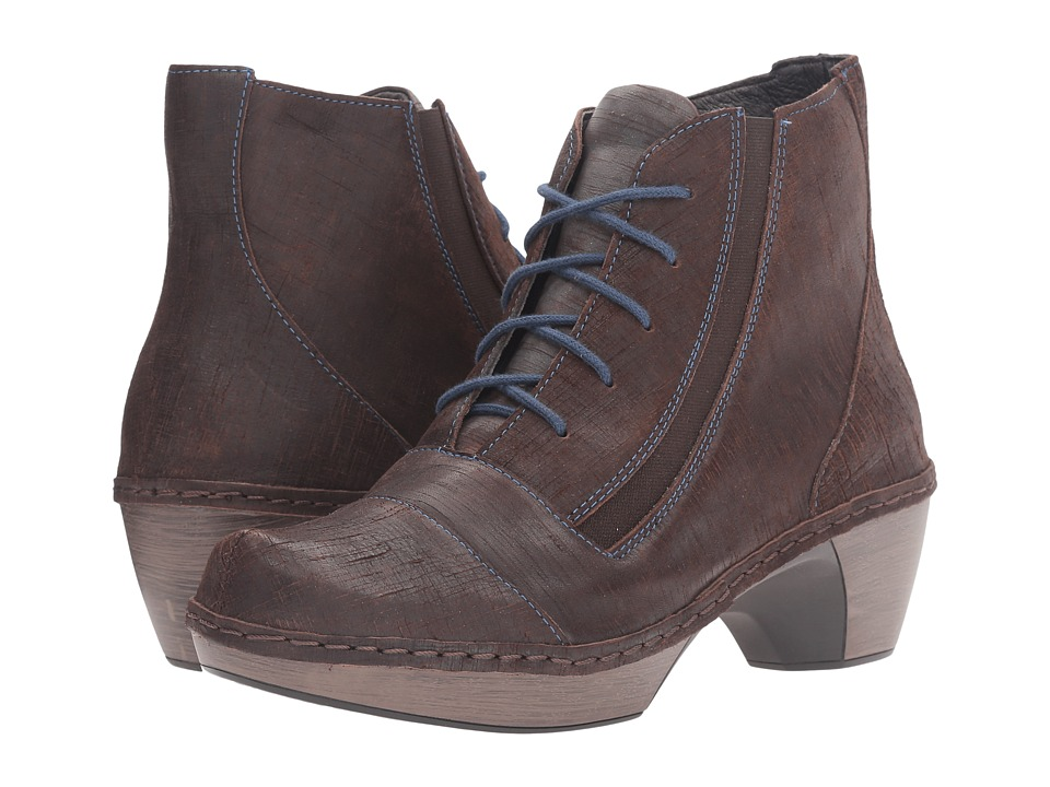 Naot Footwear Avila (Mine Brown Leather) Women