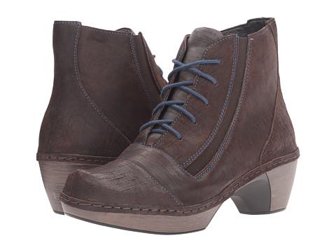 Naot Footwear Avila - Mine Brown Leather