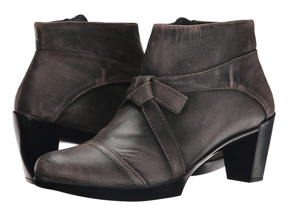 Naot Footwear Vistoso (Vintage Gray Leather) Women