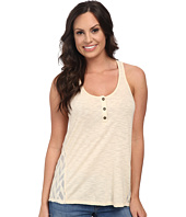 Lucky Brand - Mixed Henley Tank Top