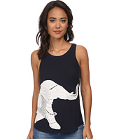 Lucky Brand - Embroidered Elephant Tank Top