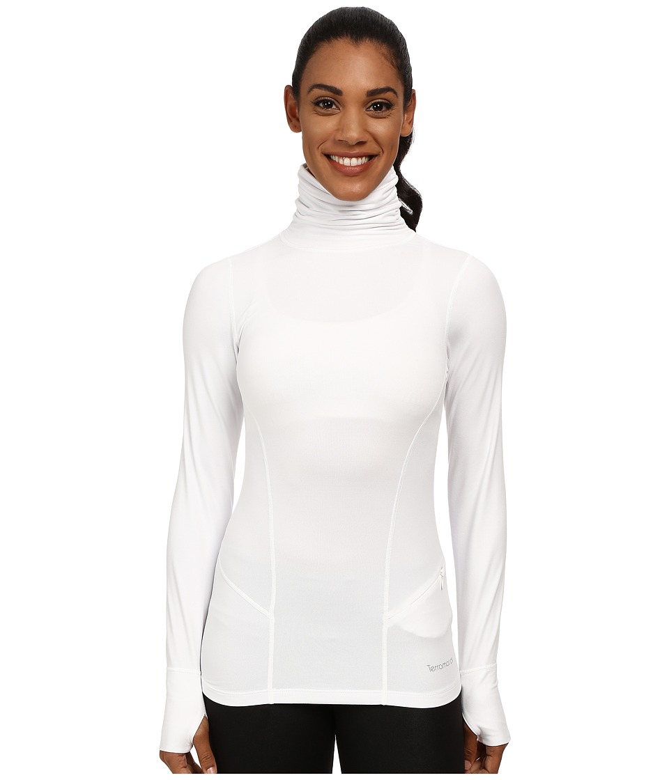 Terramar Cloudnine Performance Long Sleeve Turtle Neck W8238 (White) Women