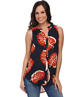 Lucky Brand - Tossed Leaf Top