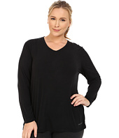 Terramar - Plus Size Kashmir Performance V-Neck W8544W