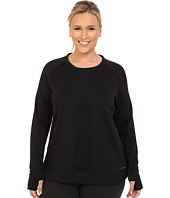 Terramar - Plus Size Ecolator Performance Long Sleeve Scoop W8536W