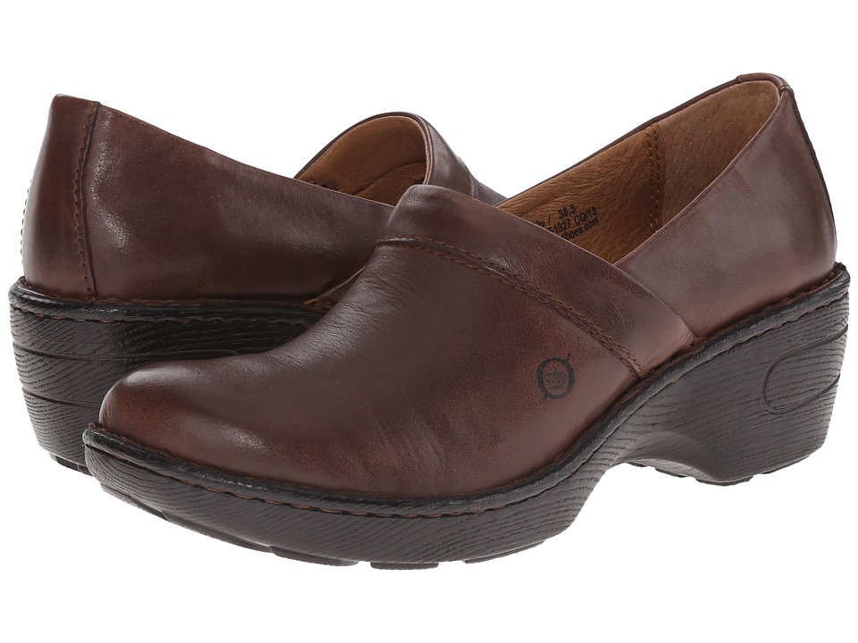Born - Toby II (Brown) Womens Clog Shoes