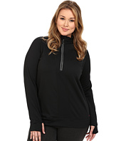 Terramar - Plus Size Ecolator Performance Long Sleeve 1/2 Zip W8538W