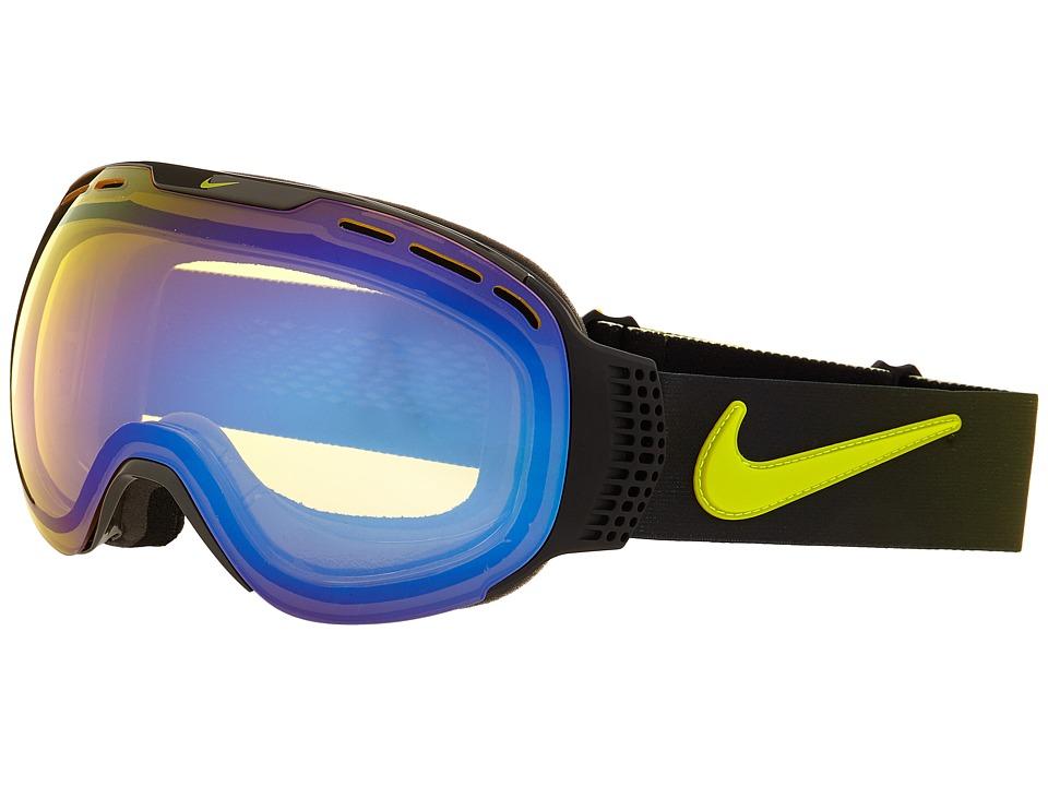 Dragon Alliance Command X Nike Black Anthracite Cyber/Yellow Blue Ionized/Dark Smoke Goggles