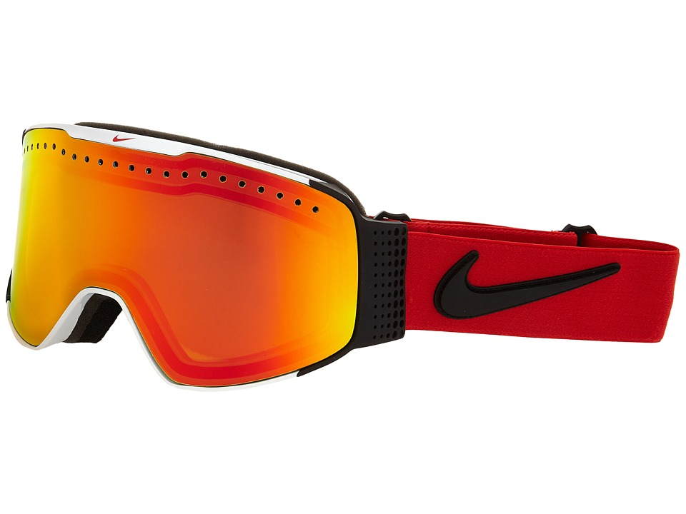 Dragon Alliance Fade X Nike White University Red/Yellow Red Ionized Goggles
