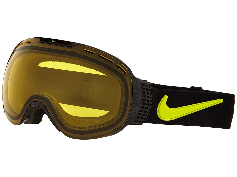 Dragon Alliance Command X Nike Black Cyber/Transitions Yellow Goggles