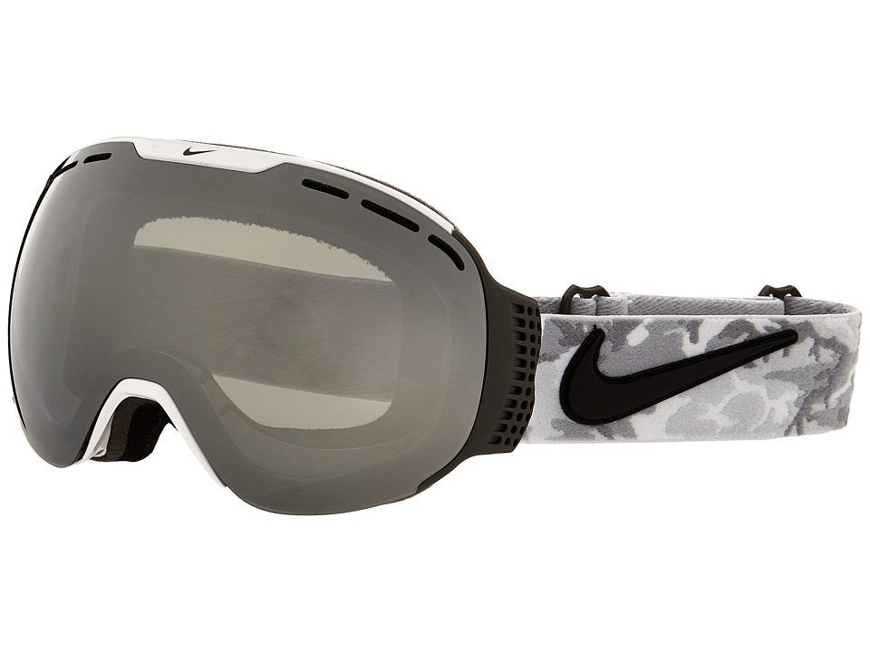 Dragon Alliance Command X Nike White Black Anthracite Camo/Mirror Ionized/Yellow Blue Ionized Goggles