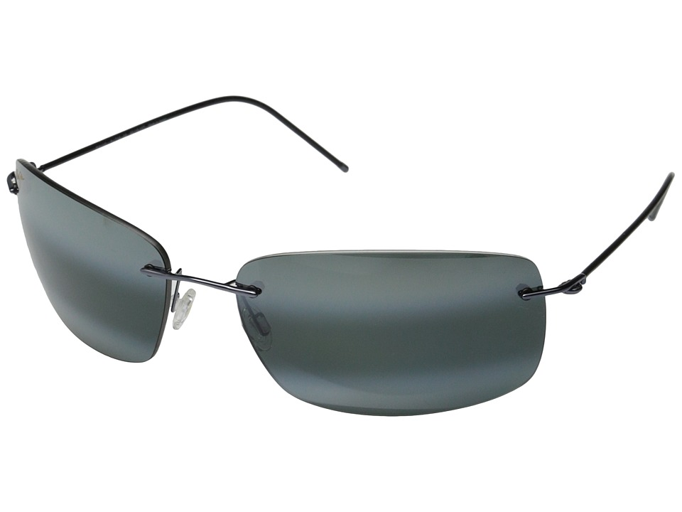 Maui Jim - Frigate (Gunmetal Blue Black/Neutral Grey) Fashion Sunglasses