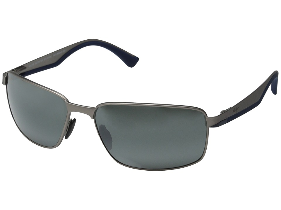 Maui Jim - Backswing (Satin Grey/Neutral Grey) Fashion Sunglasses