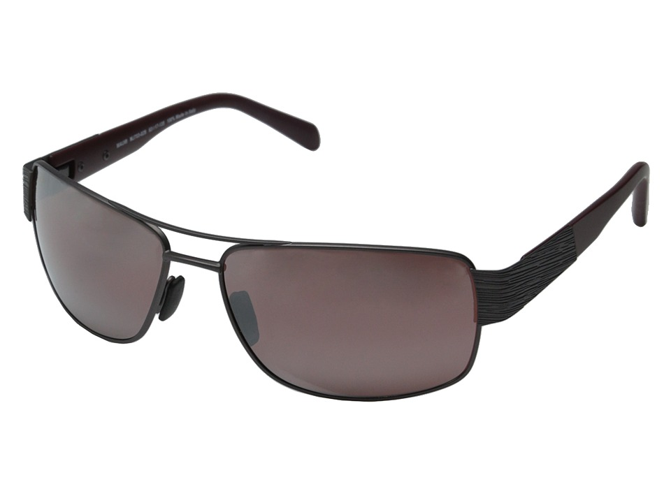 Maui Jim - Ohia (Satin Dark Gunmetal/Burgundy/Maui Rose) Fashion Sunglasses
