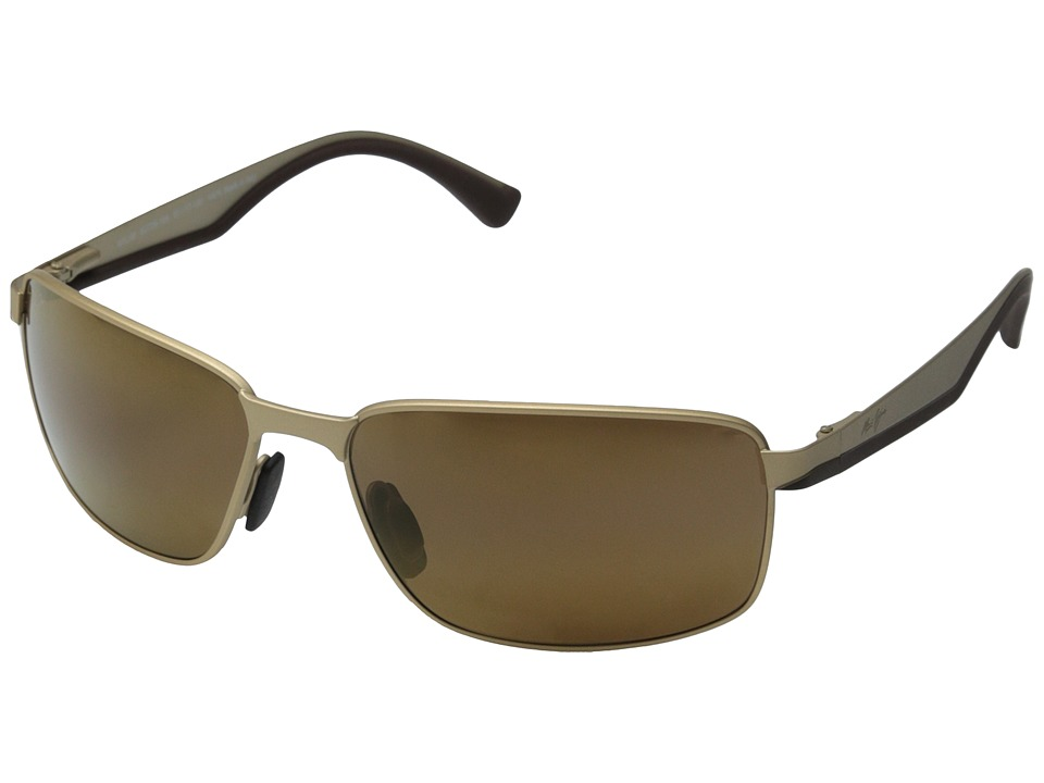 Maui Jim Backswing Satin Gold/HCL Bronze Fashion Sunglasses