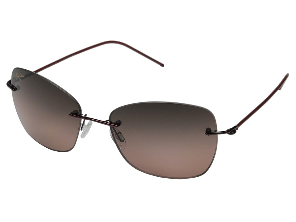 Maui Jim Apapane Burgundy/Red/Maui Rose Fashion Sunglasses